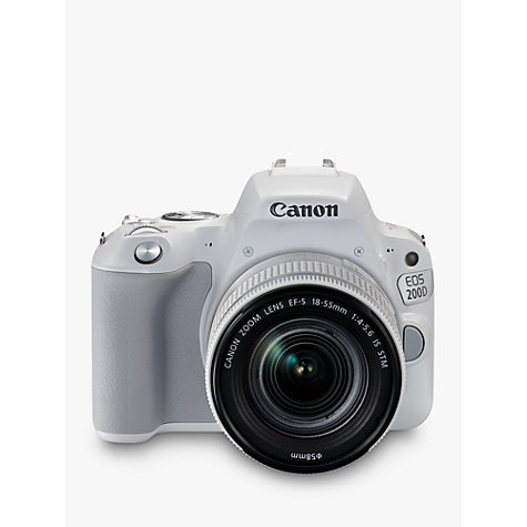buy canon eos 200d digital slr camera with 18 55mm f/4 5.6