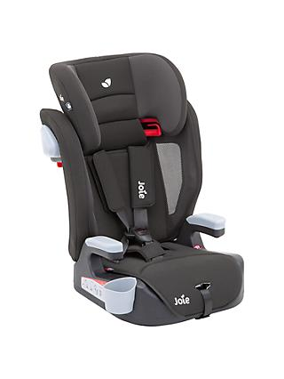 Joie Baby Elevate Group 1/2/3 Car Seat, Two Tone Black