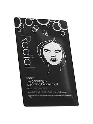 Rodial Snake Oxygenating & Cleansing Bubble Individual Sheet Mask