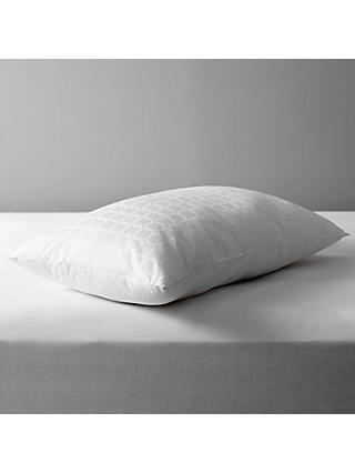 John Lewis & Partners Specialist Synthetic Active Anti Allergy Standard Pillow, Firm