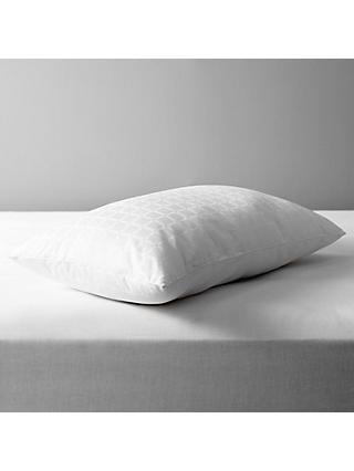 John Lewis & Partners Specialist Synthetic Active Anti Allergy Standard Pillow, Soft