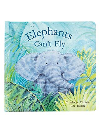 Jellycat Elephants Can't Fly Children's Book