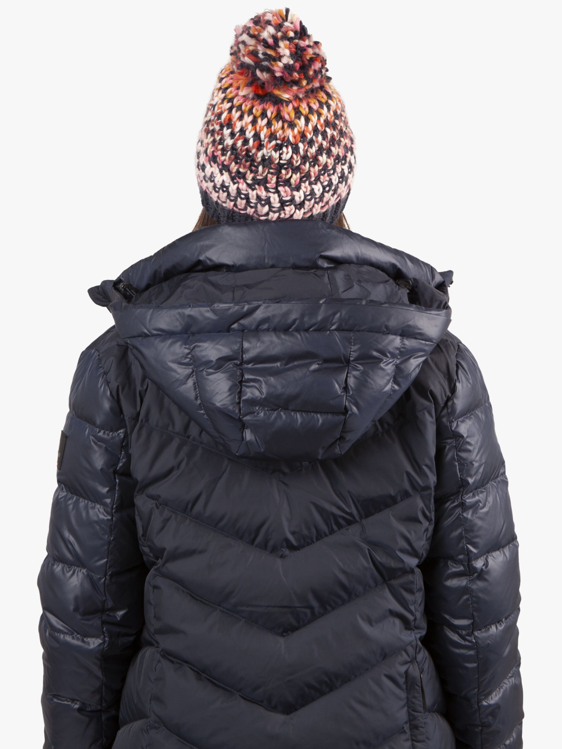 best sneakers best online picked up Barts Nicole Beanie, One Size, Navy at John Lewis & Partners