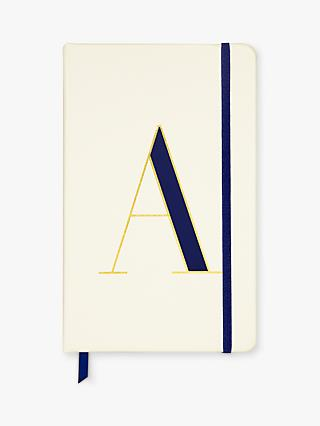 kate spade new york A5 Initial Notebook