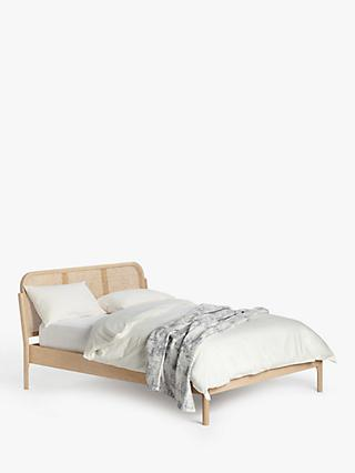 John Lewis & Partners Rattan Bed Frame, Double