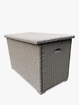 LG Outdoor Saigon Cushion Storage Box, Natural