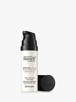 Philosophy Anti-Wrinkle Miracle Worker+ Line-Correcting Eye Cream, 15ml