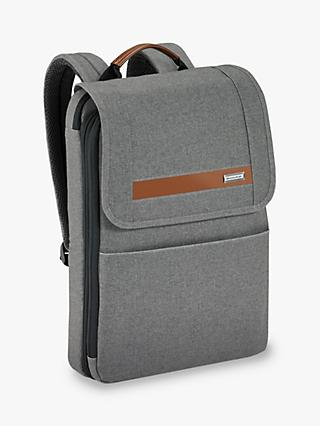 Briggs & Riley Kinzie Street 2.0 Slim Flapover Expandable Backpack