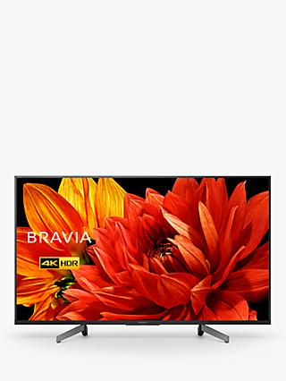 "Sony Bravia KD43XG8305 (2019) LED HDR 4K Ultra HD Smart Android TV, 43"" with Freeview HD & Youview, Black"