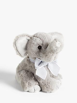 John Lewis & Partners Small Elephant Soft Toy