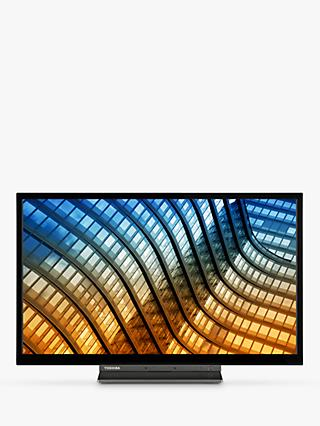 "Toshiba 55UL5A63DB (2019) LED 4K Ultra HD Smart TV, 55"" with Freeview HD & Freeview Play, Black"