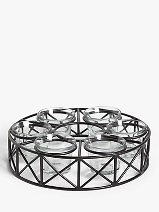 John Lewis & Partners Parasol Tealight Candle Holder