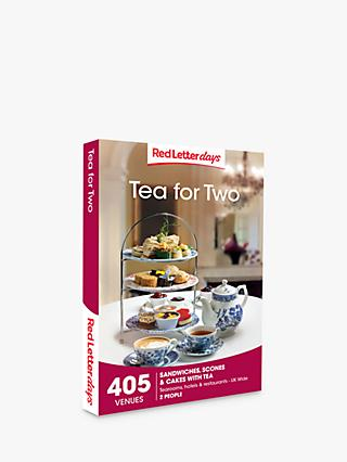 Red Letter Days Tea for Two Gift Experience