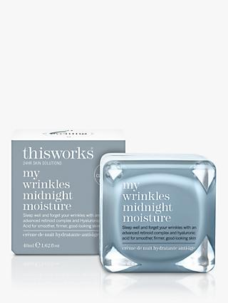 This Works My Wrinkles Midnight Moisture, 48ml