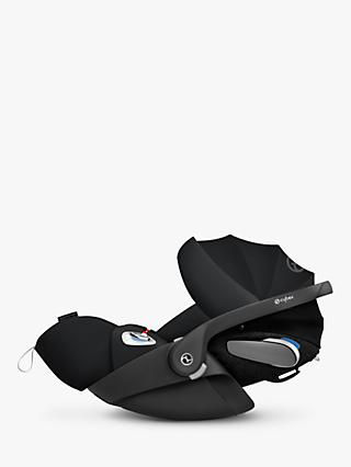 Cybex Cloud Z i-Size Group 0+ Baby Car Seat, Deep Black