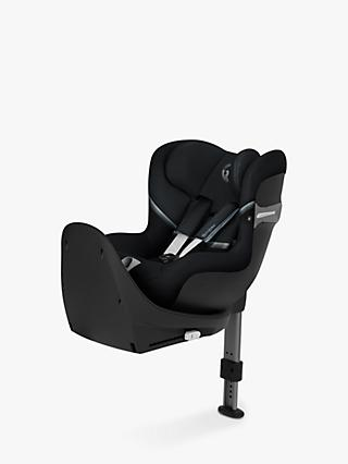 Cybex Sirona S iSize Group 0+/1 Car Seat, Deep Black
