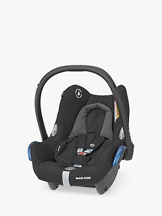 Maxi-Cosi CabrioFix Group 0+ Baby Car Seat, Essential Black