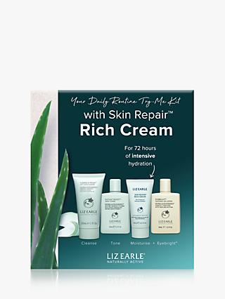 Liz Earle Your Daily Routine Try-Me Kit  with Skin Repair™ Rich Cream