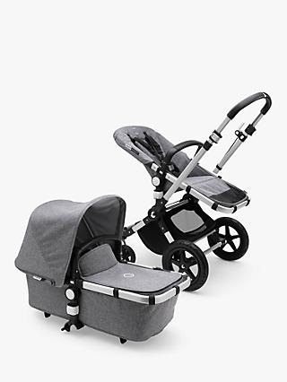 Bugaboo Cameleon3 Plus Complete Pushchair, Grey Melange