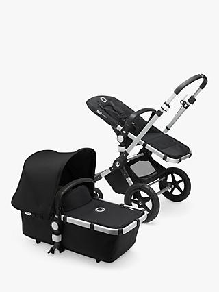 Bugaboo Cameleon3 Plus Complete Pushchair, Aluminium/Black