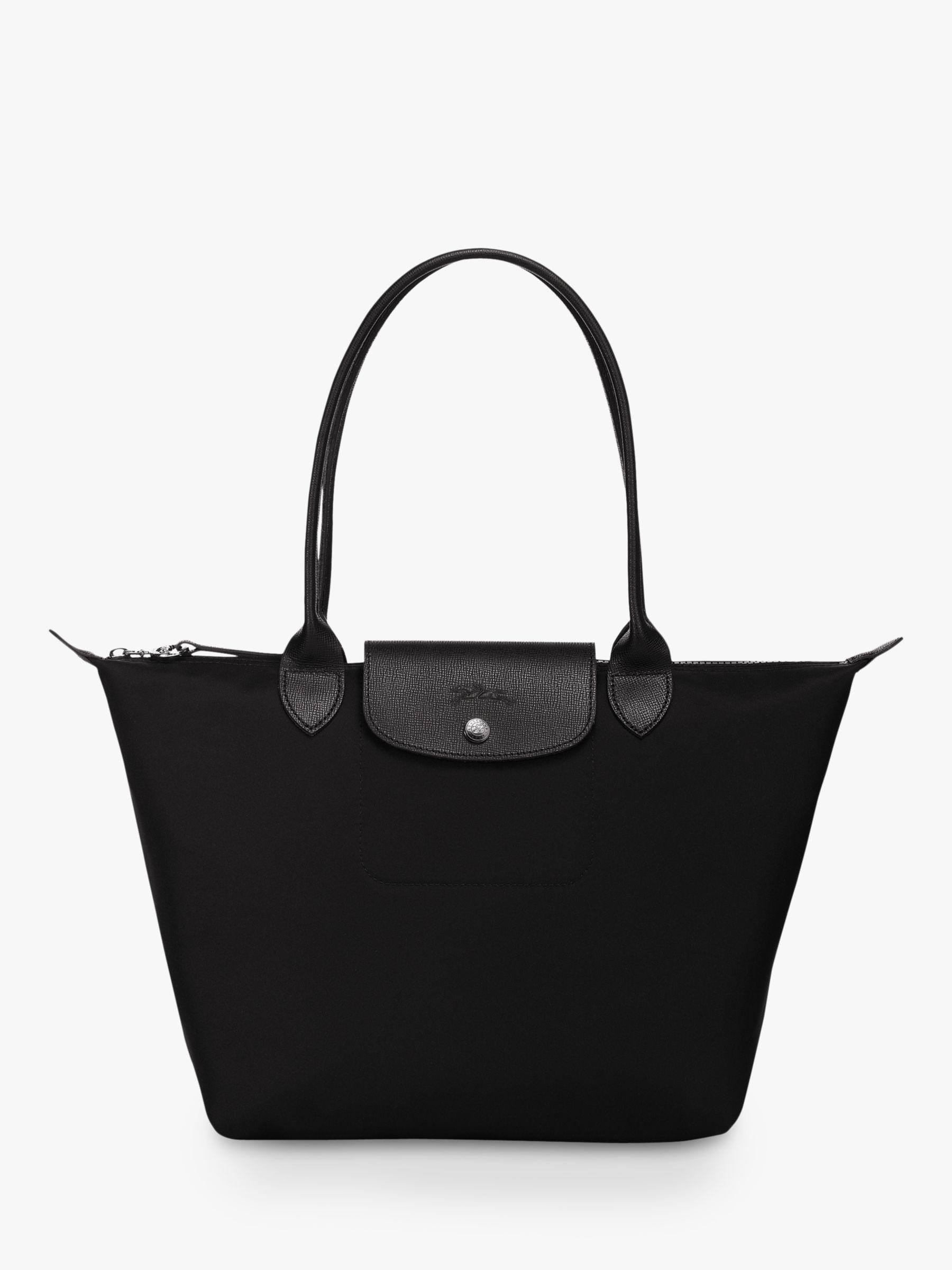 Longchamp Le Pliage Néo Medium Shoulder Bag, Black