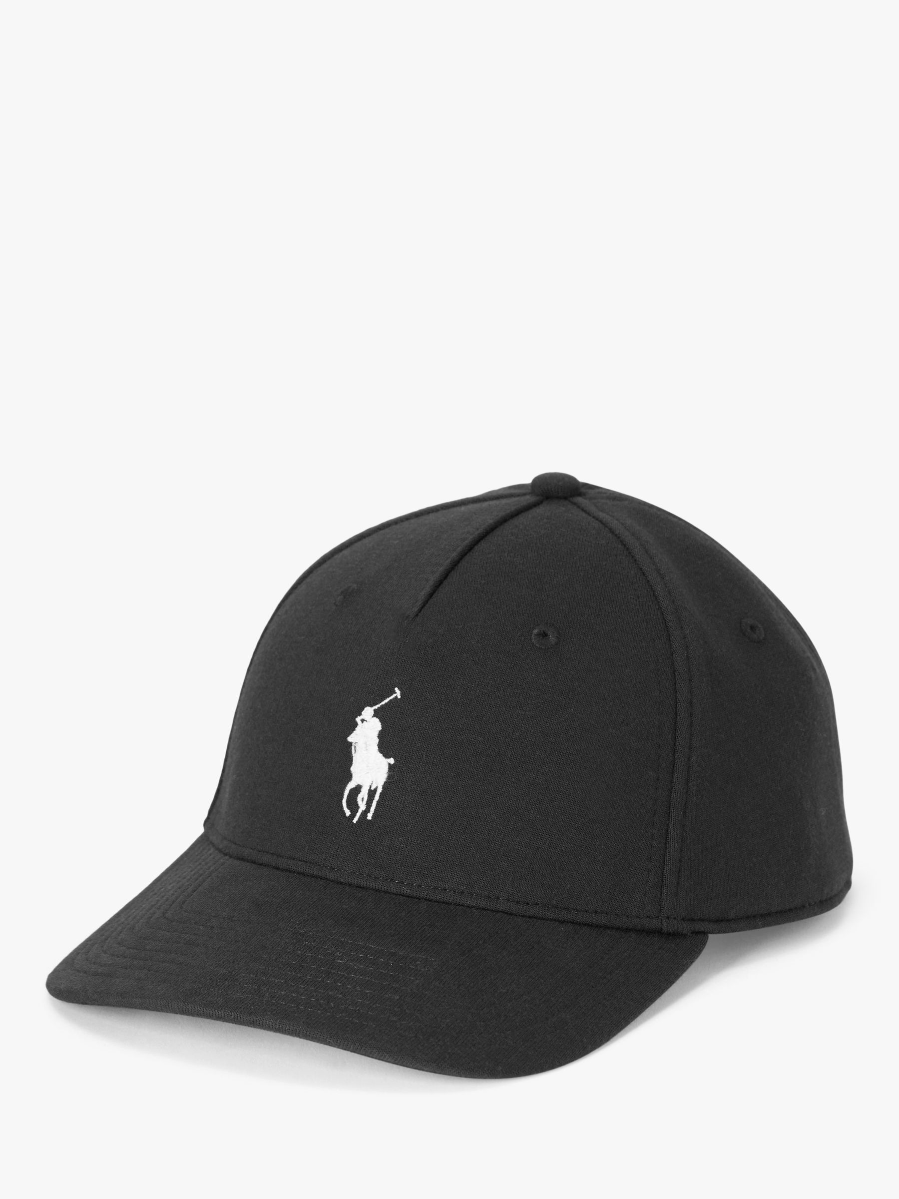 Polo Ralph Lauren Double Knit Jacquard Baseball Cap, One Size, Black