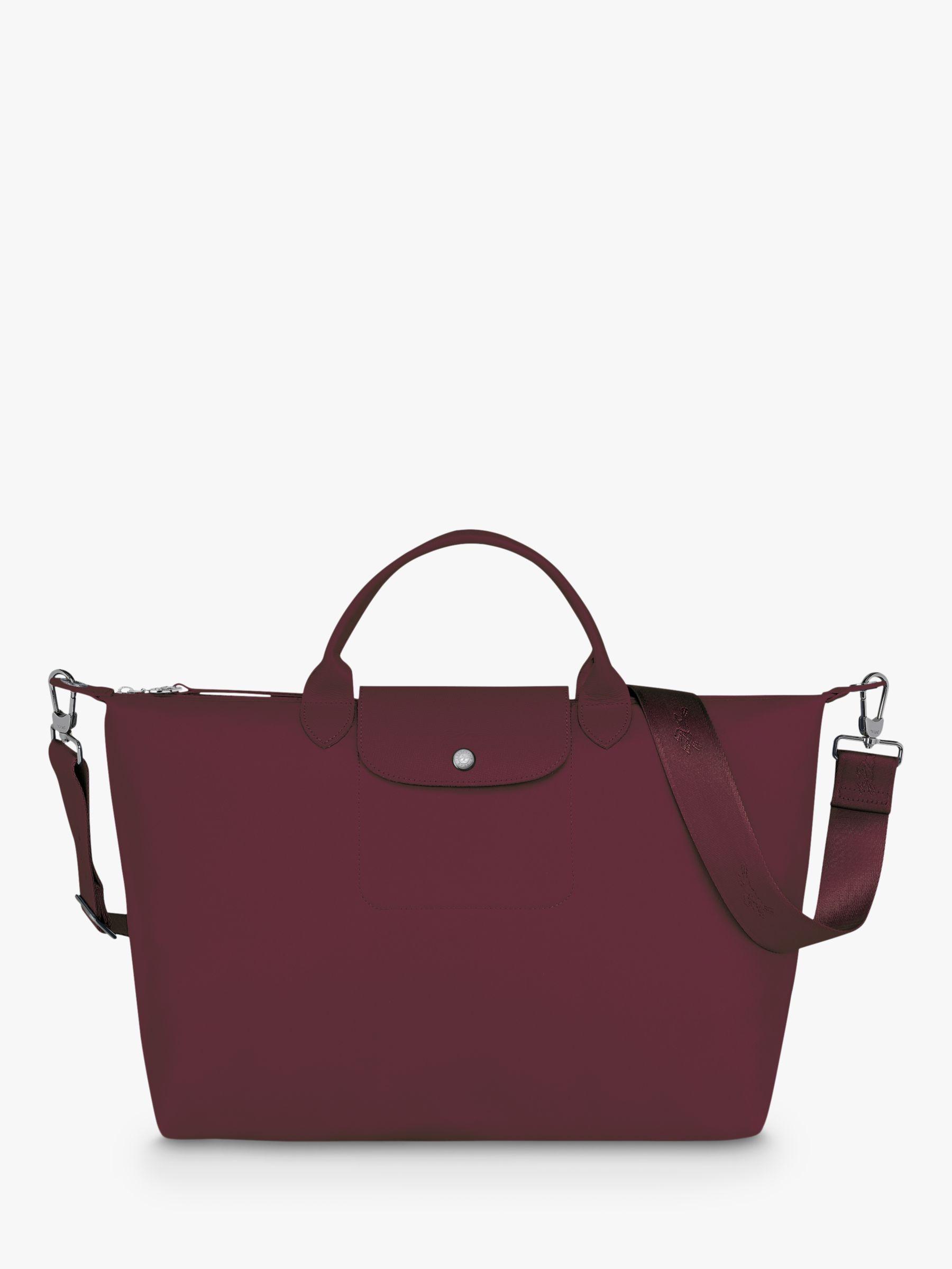 Longchamp Le Pliage Néo XL Top Handle Bag, Grape