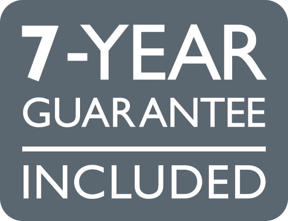 7-year guarantee included