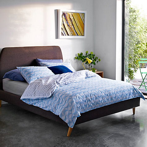 Buy House by John Lewis Jamie Bedstead, Grey, Kingsize Online at johnlewis.com
