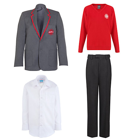 Buy East London Science School Boys Uniform John Lewis