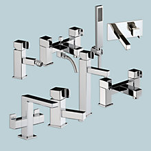 Buy Abode Rapport Bathroom Taps Online at johnlewis.com