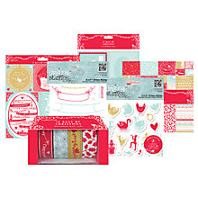 Buy Docrafts 12 Days of Christmas Papercraft Range Online at johnlewis.com