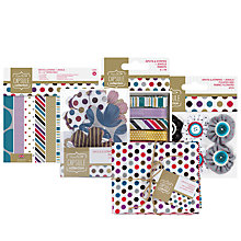 Buy Docrafts Jewel Spots Papercraft Range Online at johnlewis.com