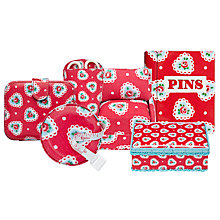 Buy Cath Kidston Sweetheart Sewing Range Online at johnlewis.com