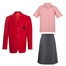 The Prebendal School Girls' Year 7-8 Summer Uniform