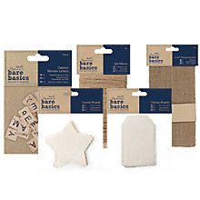 Buy Docrafts Bare Basics Papercraft Range Online at johnlewis.com