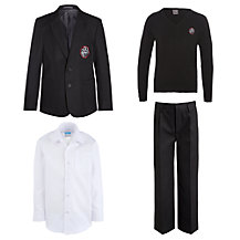 Holy Family Catholic School and Sixth Form Boys' Uniform