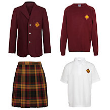Smallwood Manor Preparatory School  Girls' Pre-Prep Uniform