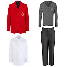 St Peter & St Paul School Boys' Junior Uniform