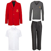 St Peter & St Paul School Boys' Reception Uniform