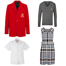 St Peter & St Paul School Girls' Reception Uniform