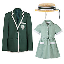Buckholme Towers School Girls' Summer Uniform