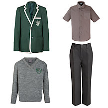 Buckholme Towers School Boys' Summer Uniform