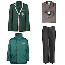 Buckholme Towers School Boys' Winter Uniform