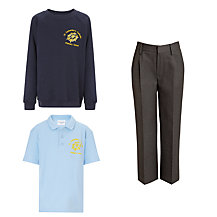 St Catherine's Catholic Primary School KS2 Boys Uniform (Year 3 to Year 6)