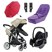 Buy iCandy Apple 2 Pear Pushchair & Accessories Range Online at johnlewis.com