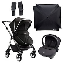 Silver Cross Wayfarer Pushchair Chrome/Graphite & Accessories Range