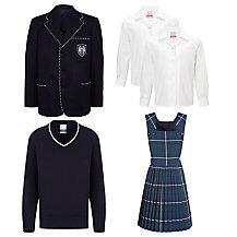 Meoncross School Lower School Girls Winter Uniform