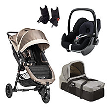 Buy Baby Jogger City Mini GT Pushchair & Accessories Range Online at johnlewis.com