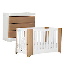 Buy Boori Dawn Furniture Collection, Beech/White Online at johnlewis.com